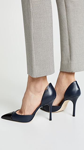 Tory Burch Penelope 100mm d'Orsay Pumps