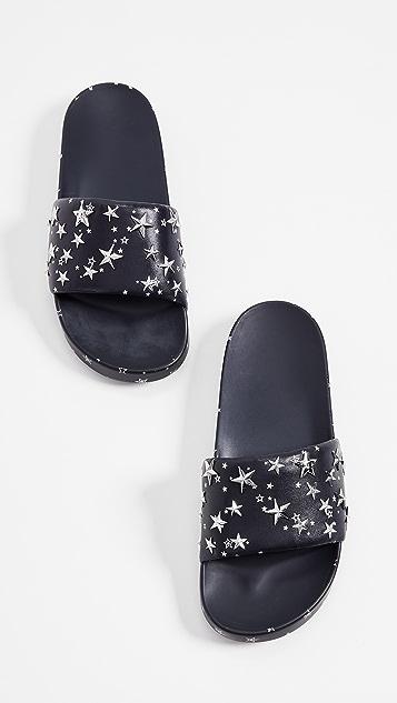 2bece496e ... Tory Burch Star Slides ...