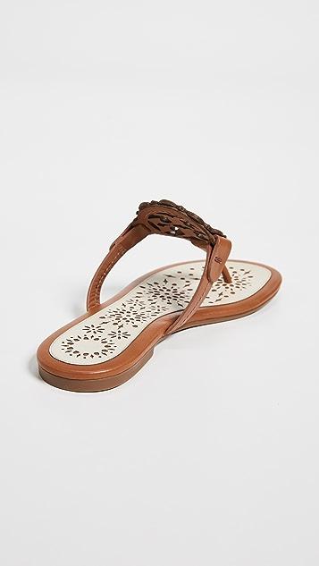 Tory Burch Miller Scallop Sandals