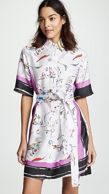Tory Burch Printed Shirtdress