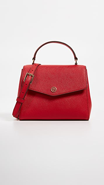 Tory Burch Robinson Small Top Handle Satchel