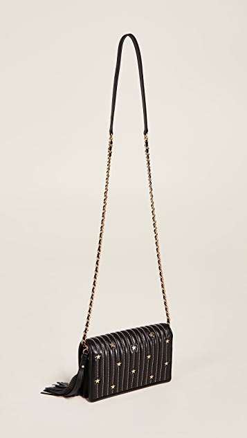 873da802f0b ... Tory Burch Star Stud Flat Wallet Crossbody Bag ...