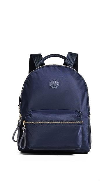 Tory Navy Tory Burch Tilda Nylon ZIp Backpack