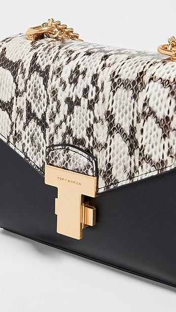 Tory Burch Juliette Exotic Chain Mini Bag