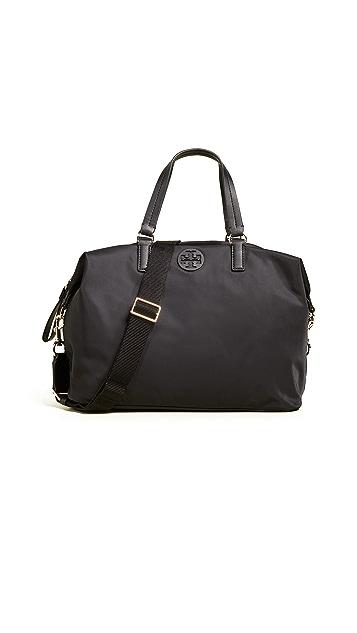 Tory Burch Нейлоновая сумка-портфель с напуском Tilda