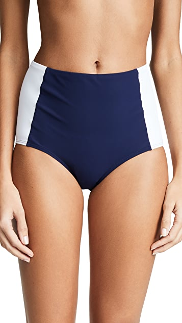 Tory Burch Lipsi High-Waisted Bottoms