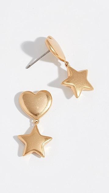 Tory Burch Celestial Charms Drop Earrings