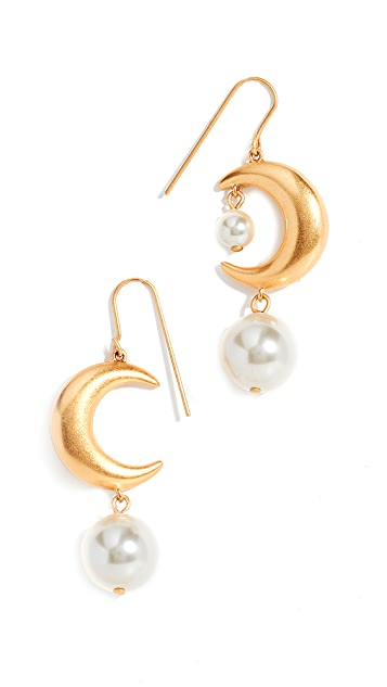 Tory Burch Core Metal Celestial Earrings