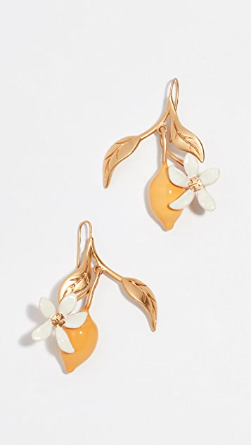 Tory Burch Lemon Lemon Drop Earrings