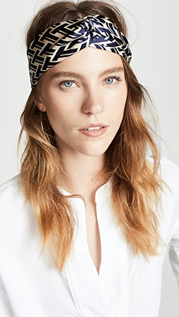 Tory Burch Silk Headband