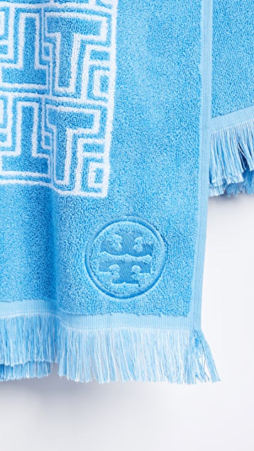 Tory Burch T Tile Beach Towel