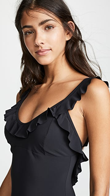 Tory Burch Ruffle One Piece