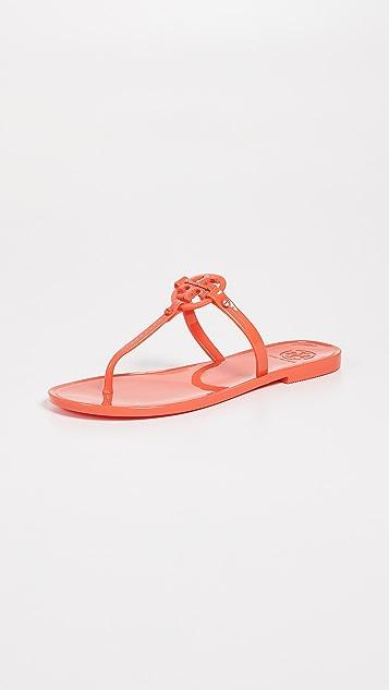 205793f74ab Tory Burch Mini Miller Flat Thong Sandals