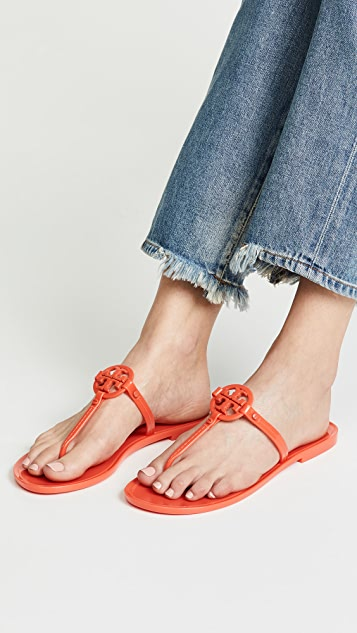 575b66a92a6 ... Tory Burch Mini Miller Flat Thong Sandals ...
