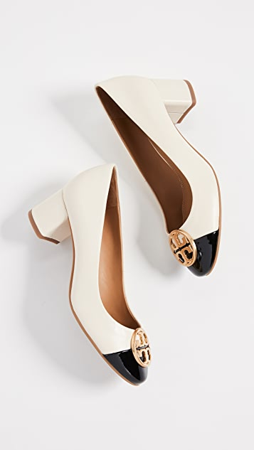 Tory Burch Chelsea 50mm Cap Toe Pumps