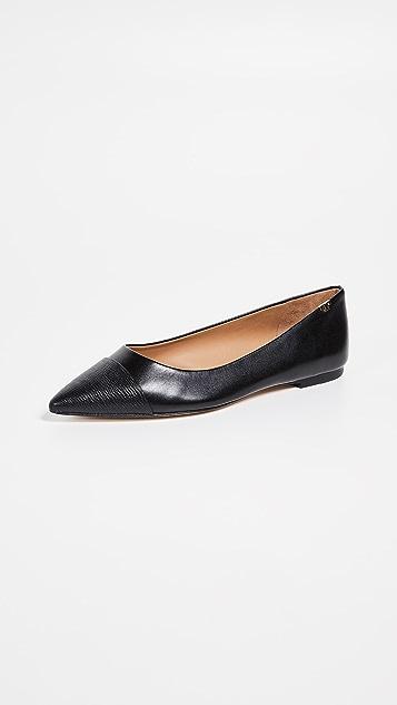 Tory Burch Penelope 包头平底鞋