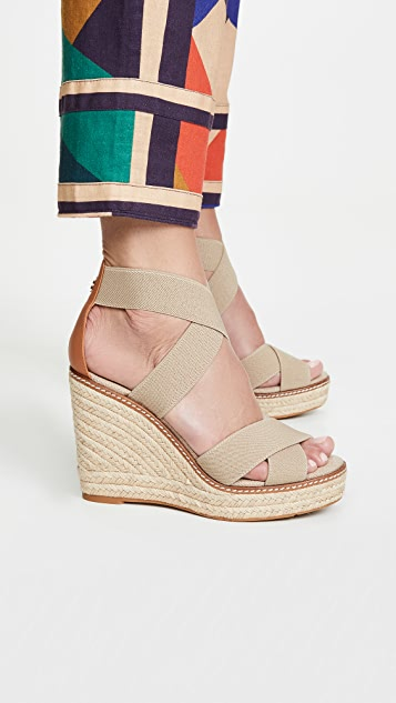 Tory Burch Frieda 100mm Espadrilles