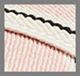 Blush Stripe/Tan