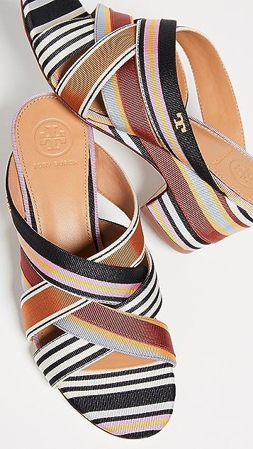 Tory Burch Graham 65mm Wedge Sandals