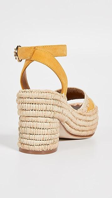 Tory Burch Arianne 90mm Platform Sandals