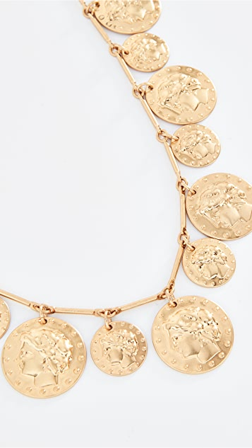 Tory Burch Колье Rosary с монетами