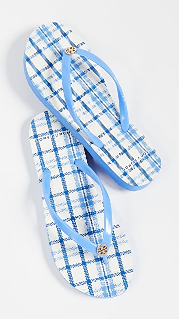 Tory Burch Printed Thin Flip Flops