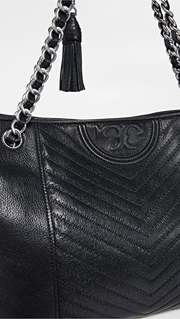 Tory Burch Fleming Distressed Tote