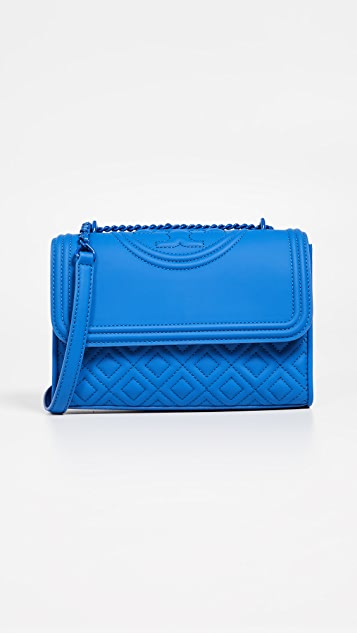Tory Burch Fleming Matte Small Convertible Shoulder Bag