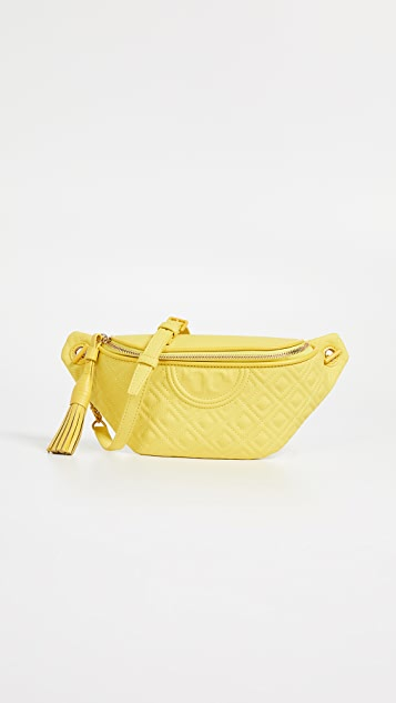 Tory Burch Fleming 哑光腰包