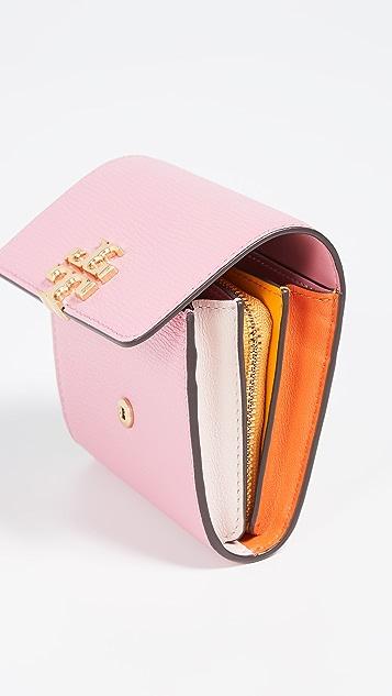 Tory Burch Складной кошелек Kira среднего размера