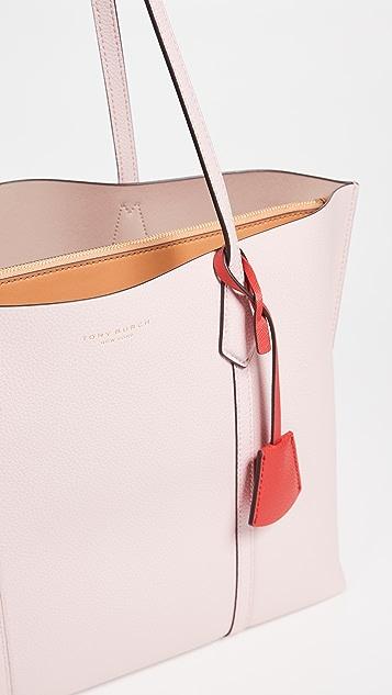 Tory Burch Объемная сумка Perry с короткими ручками и тремя отделениями