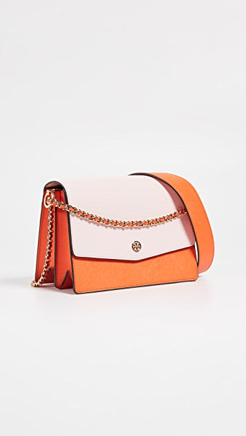 Tory Burch Robinson Colorblock Convertible Shoulder Bag