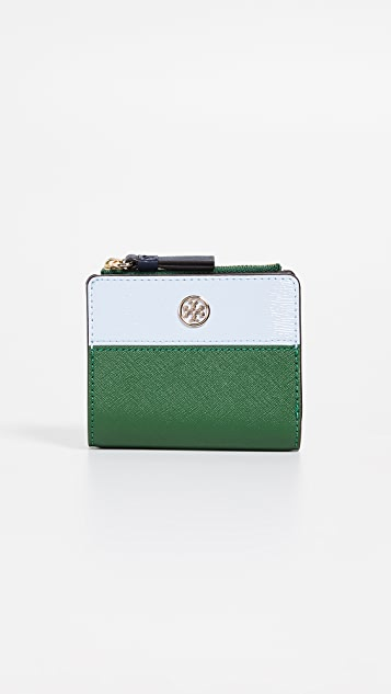 Tory Burch Robinson Colorblock Mini Wallet