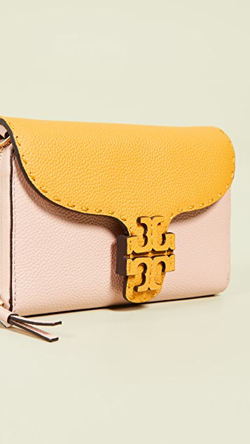 Tory Burch Mcgraw Flat Wallet Crossbody Bag
