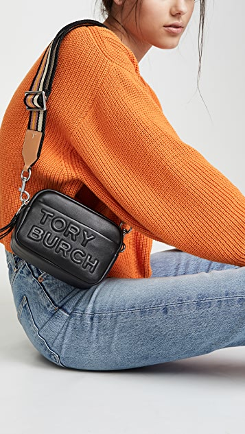 Tory Burch Миниатюрная сумка с двойной молнией Perry