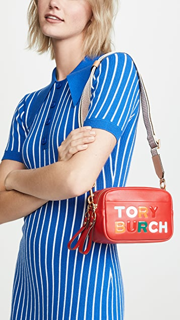 Tory Burch Perry Double Zip Mini Bag