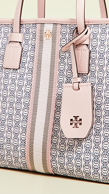 Tory Burch Объемная сумка с короткими ручками Gemini Link