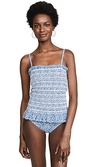 Tory Burch Costa Printed One Piece