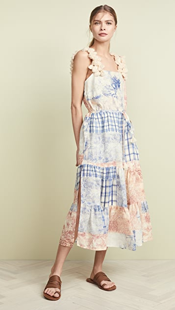 Tory Burch Patchwork Dress