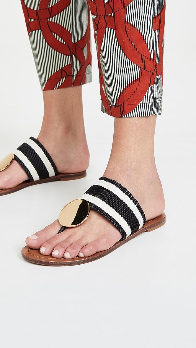 Tory Burch Patos Disk Sandals | SHOPBOP