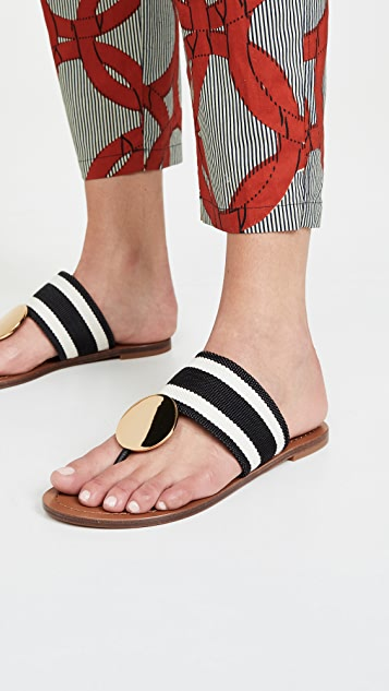 Tory Burch Patos Disk Sandals