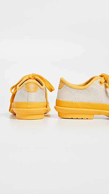 Tory Burch Cap Toe Sneakers