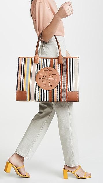 Tory Burch Объемная сумка с короткими ручками Ella в лоскутной технике