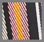 多色织带条纹