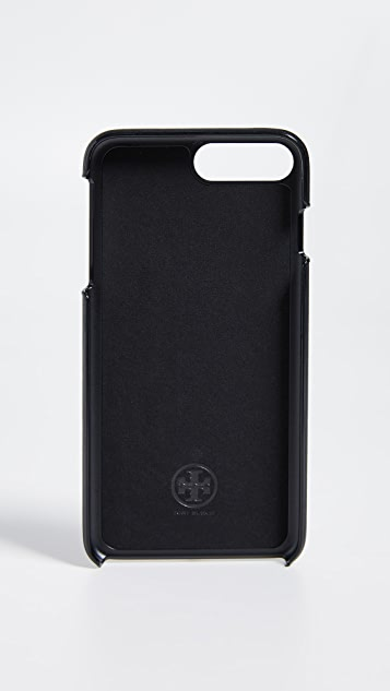 Tory Burch Robinson Printed Hardshell iPhone 手机壳