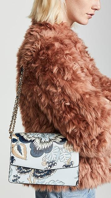 Tory Burch Robinson Floral Convertible Shoulder Bag