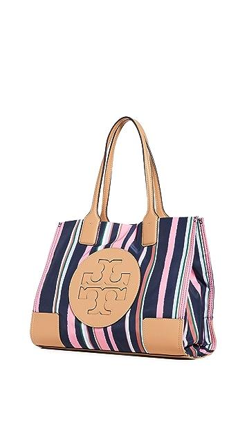 Tory Burch Миниатюрная объемная сумка с короткими ручками Ella