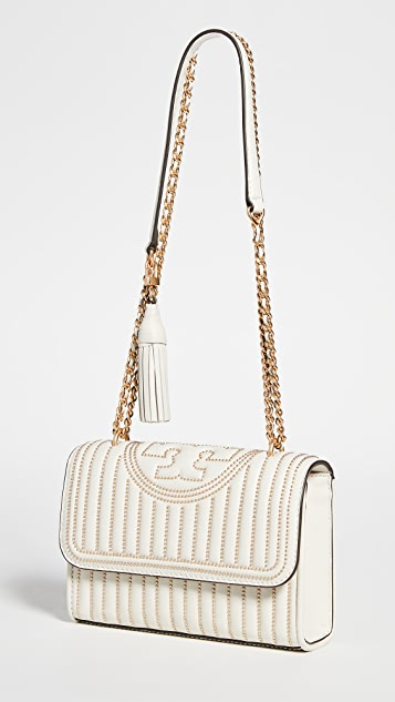 Tory Burch Fleming Mini Stud Small Convertible Shoulder Bag