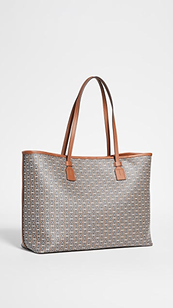 Tory Burch Gemini Link Canvas Tote Bag