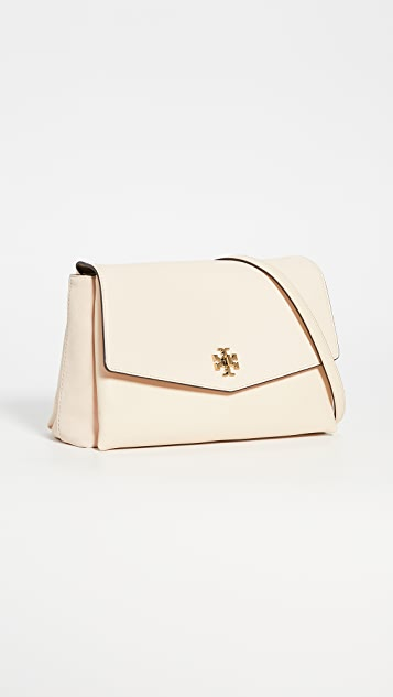 Tory Burch Kira Mixed Material Shoulder Bag